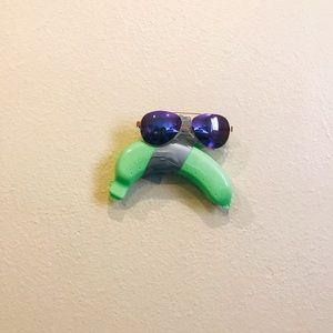 FREE Banana Case ✨with Purple Aviator Sunglasses